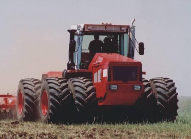 Борьба с уплотнением почвы. Широкопрофильные шины : Русский ...